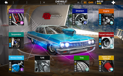 Nitro Nation Drag And Drift Mod Apk (v6.13.1) + Unlimited Money + No Ads 3