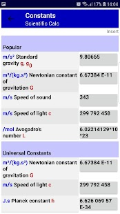 Scientific Complex Number Calculator Screenshot