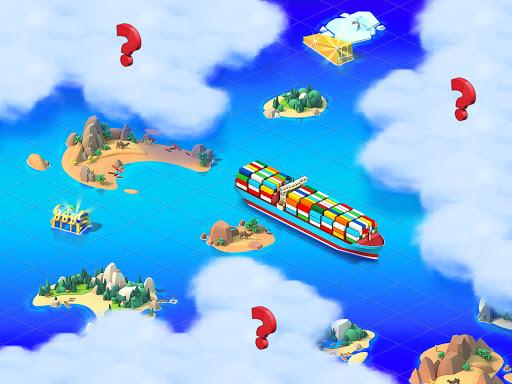Sea Port: Cargo Ship & Town Build Tycoon Strategy 1.0.153 screenshots 4