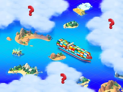 Sea Port Mod Apk 1.0.156 Ship Transport Tycoon & Business Game Download Free 4
