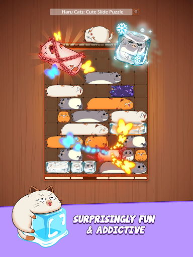 Haru Catsu00ae - Fun Slide Puzzle - Free Flow Zen Game Apkfinish screenshots 19