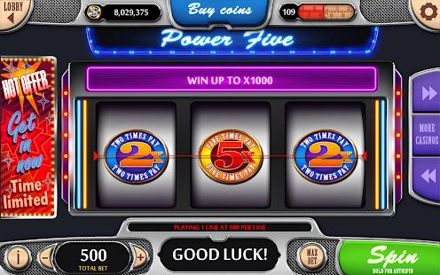Vegas Power Slots - Free Real Vegas Slot Machines 1.47 Screenshots 18