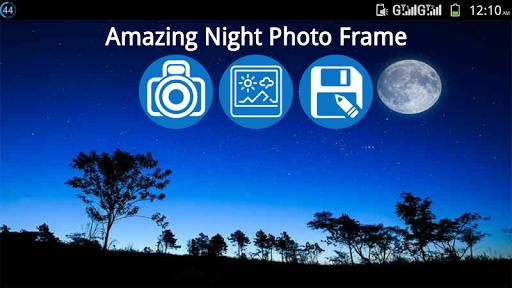Amazing Night Photo Frame modavailable screenshots 1