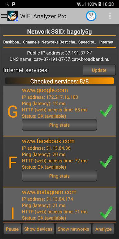 WiFi Analyzer Pro poster 6