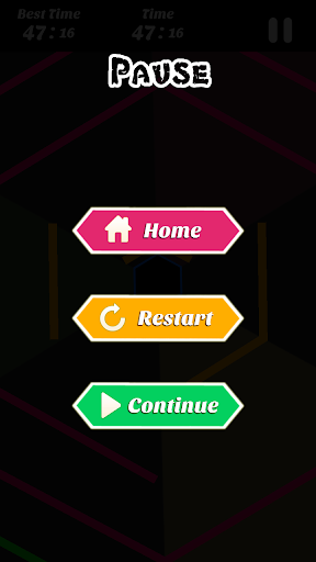 Hexagon - super hexagon, polygon 1.12 screenshots 4