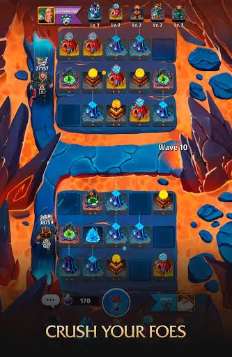 Random Clash - Epic fantasy strategy mobile games  screenshots 6