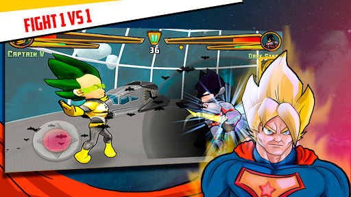 Superheroes League - Free fighting games 2.1 screenshots 9