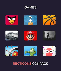 Recticons – Icon Pack Apk (Paid/Patched) 6