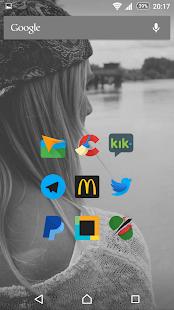 Glim Dark - Free Icon Pack