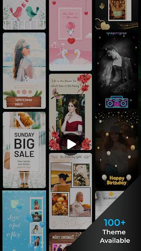 Song Video Maker - Photo Video Maker android2mod screenshots 5