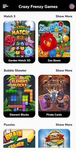 Game Zone - Crazy Frenzy Games 4.0 screenshots 1