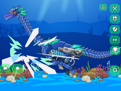 Robot Tanystropheus Toy War 3.6 screenshots 5