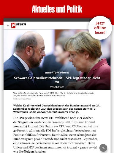 stern - Aktuelle Nachrichten  screenshots 6
