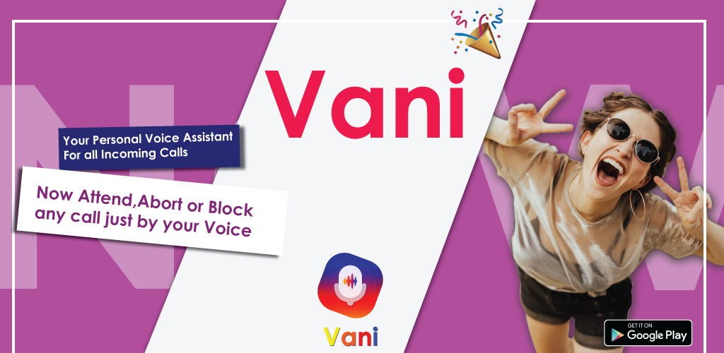 Vani Dialer - Answer Calls By Your Voice poster 0