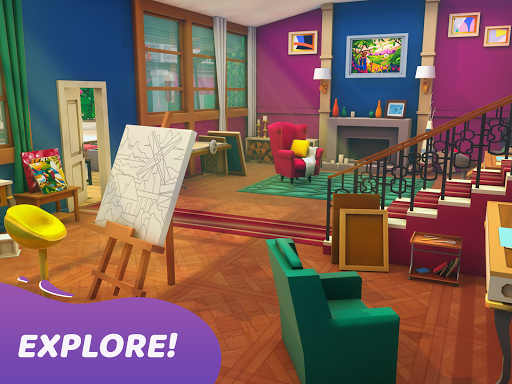 Gallery: Coloring Book by Number & Home Decor Game  screenshots 8
