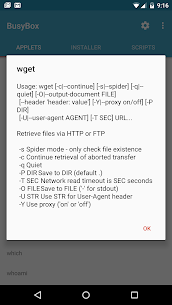 BusyBox for Android Pro v6.7.10.0 Cracked APK 4