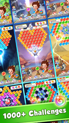 Baby Pop - Primitive Bubble Shooter & Dress up Varies with device screenshots 5