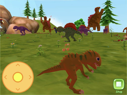 Dinosaur World 3D - AR Camera  screenshots 7