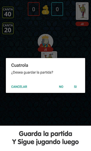 Cuatrola Spanish Solitaire - Cards Game  screenshots 8