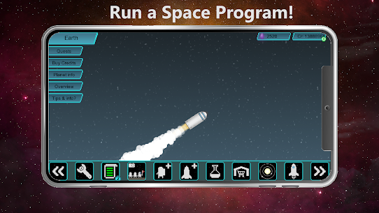 Tiny Space Program Mod Apk 1.1.377 (Lots of Credits/Crystals/Research Points) 1