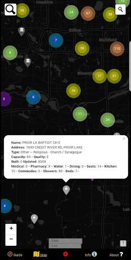 Fallout Shelters Data Map - Twin Cities, Minnesota  screenshots 7