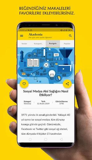 Akademia - Her Gu00fcn Yeni u015eeyler u00d6u011frenin! 1.0.0 Screenshots 4