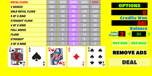 Deuces Wild - Video Poker 1.9 screenshots 1