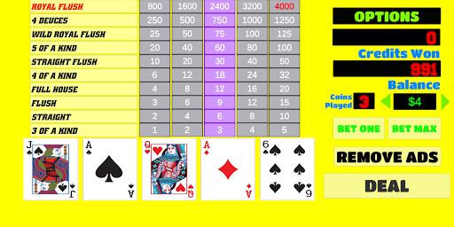 Deuces Wild - Video Poker apkdebit screenshots 1