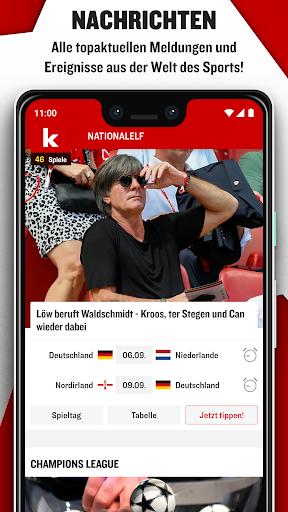 kicker Fußball News  screenshots 1