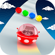Space Road: color ball game