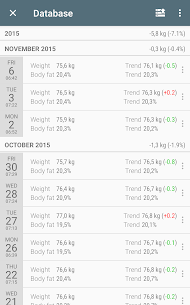 Libra – Weight Manager [PRO] [MOD EXTRA] Apk Download 3