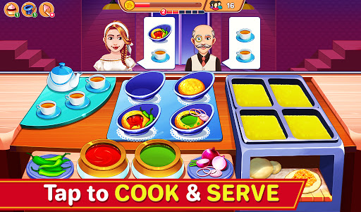 Indian Cooking Madness - Restaurant Cooking Games android2mod screenshots 3