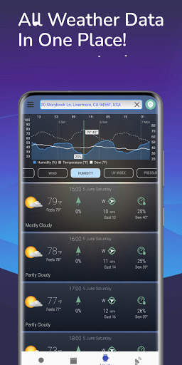 Hyperlocal Weather (Dark Sky Powered by) & Radar apktram screenshots 8