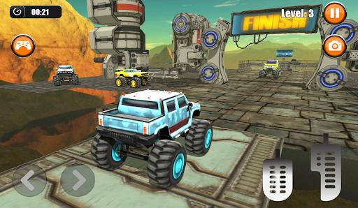 Ultimate Monster Truck: 3D Stunt Racing Simulator apkpoly screenshots 2