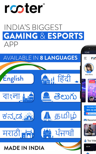 Rooter: Watch & Stream Live Games & Esports android2mod screenshots 2