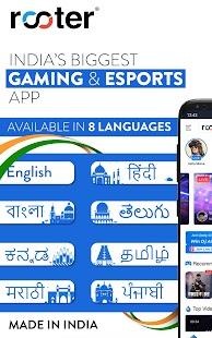 Rooter: Watch & Stream Live Games & Esports Screenshot