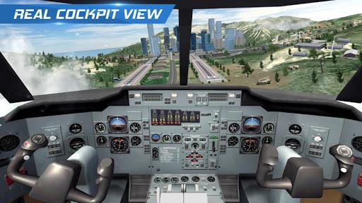 Airplane Flight Pilot Simulator  screenshots 1