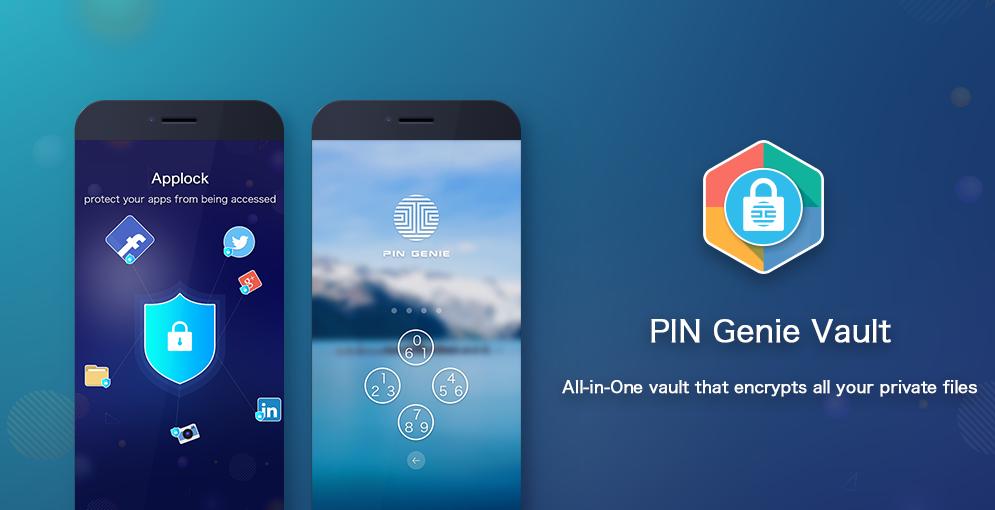 PIN Genie Vault- Applock, Hide Apps, Photo & Video