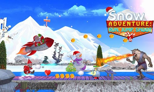 Snow Adventure Run Jump For Pc (Free Download On Windows7/8/8.1/10 And Mac) 1