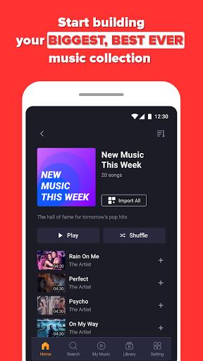 Free Music Streaming: Trending for Tube Music Song  screenshots 2