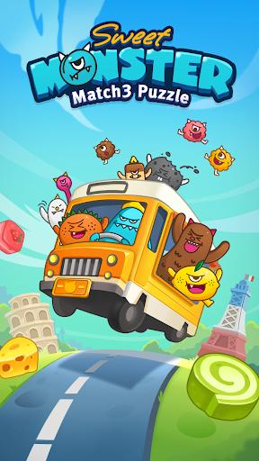 Sweet Monsteru2122 Friends Match 3 Puzzle | Swap Candy 1.3.2 screenshots 21