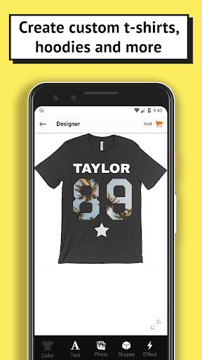 T-shirt design - OShirt android2mod screenshots 1