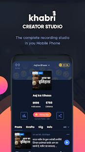 Create & Manage Your Audio Podcast - Khabri Studio