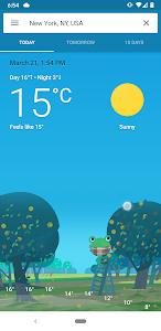 Frog weather 2.4.5