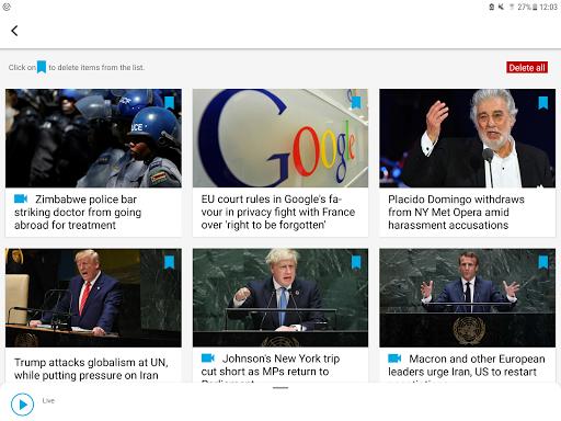 FRANCE 24 - Live international news 24/7 5.2.3 Screenshots 5
