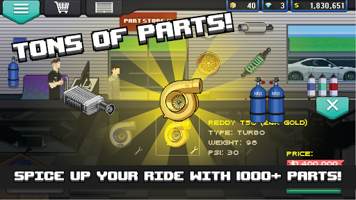 Pixel Car Racer 1.1.80 Screenshots 2