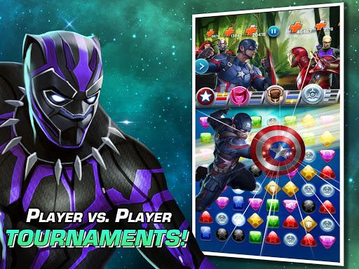 MARVEL Puzzle Quest: Join the Super Hero Battle! Apkfinish screenshots 9