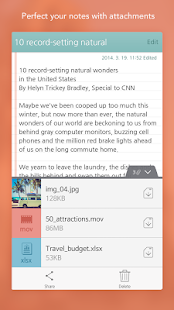 SomNote - Beautiful note app Screenshot