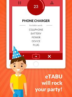 eTABU PRO Screenshot