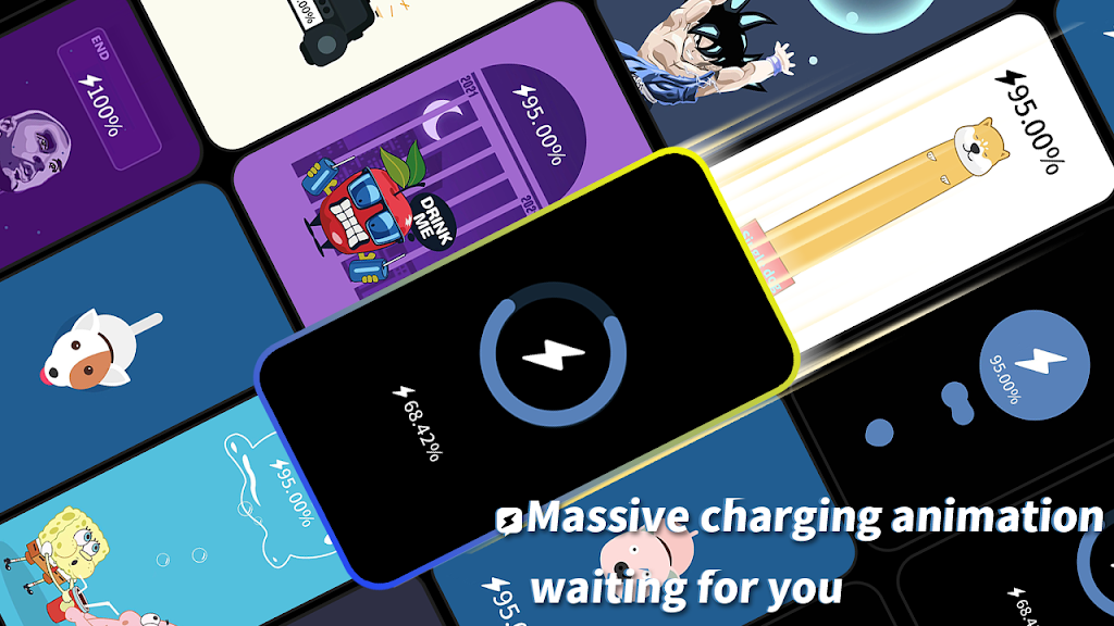 Pika! Charging show - charging animation  poster 3